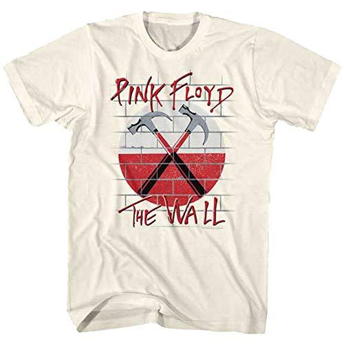 Pink Floyd PFTW 4X Cotton T-Shirt Natural Adult Men's Unisex Short Sleeve T-Shirt