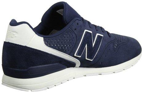 New Balance 996 Leather, Sneaker Uomo Blu