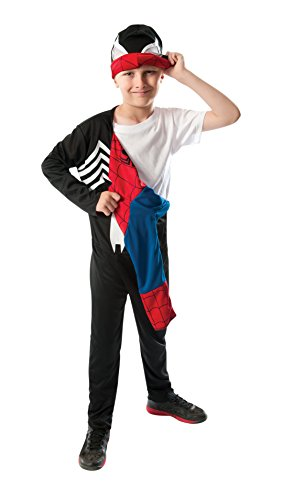 Rubie's Marvel Ultimate Spider-Man 2-in-1 Reversible Spider-Man / Venom Costume, Child Small - Small One (Spiderman Reversible Costume)
