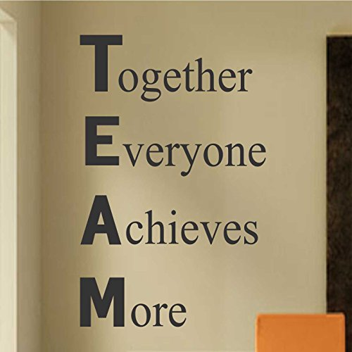 Ditooms Definition Of Team Vinyl Wall Lettering Vinyl Wall Decals Vinyl Decals Vinyl Lettering Wall Decals Office Decal Employee Motivation