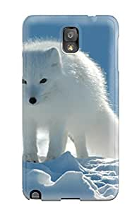 Tpu Fashionable Design Arctic Foxes Rugged Case Cover For Galaxy Note 3 New