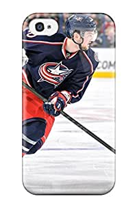 Hot columbus blue jackets hockey nhl (56) NHL Sports & Colleges fashionable iPhone 4/4s cases 1147035K654412644