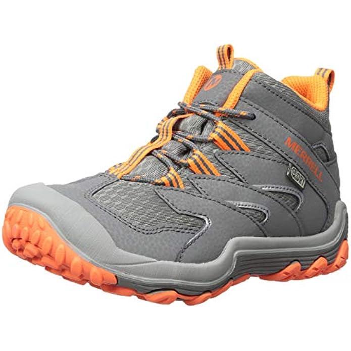 Merrell Unisex-Child Chameleon 7 Mid WTRPF Hiking Shoe