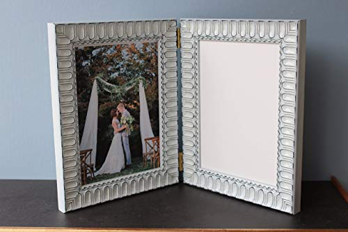 Custom Wood Picture Photo Art Double Triple Hinged Moulding Frame Classy Arcade Ornate Glossy Lacquer White Grey Brown Yellow Black Red Blue Home Deco