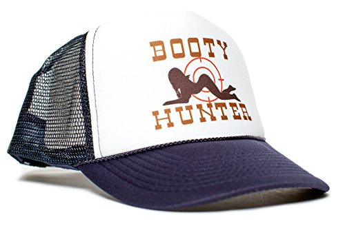 12fd69cac250e Booty Hunter Unisex-Adult Curved Bill One-Size Truckers Hat ((Navy White))  - Buy Online in Kuwait.
