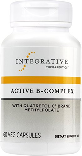 Integrative Therapeutics - Active B-Complex with Folate and Vitamins B2, B6, B12 for Energy Production - NSF Certified for Sport - 60 Hypoallergenic Capsules