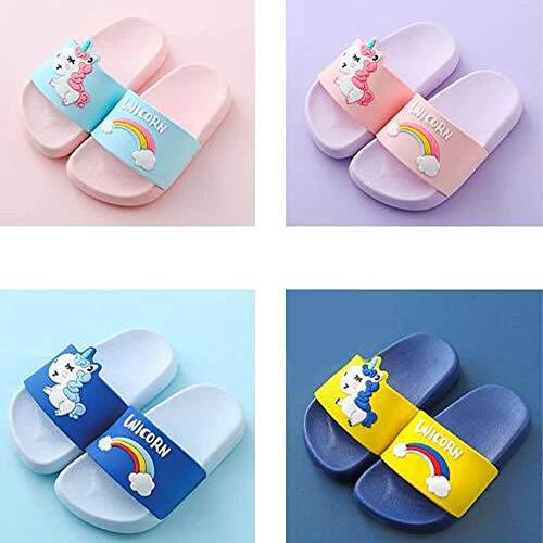 6f7c522045a26 Little Kids Unicorn Slide Sandals Summer Sandals Non-Slip Boy Girl ...