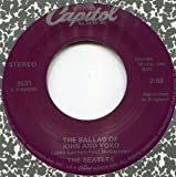 The Beatles 45 RPM The Ballad Of John And Yoko / Old Brown Shoe