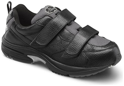 Dr. Comfort Mens Winner X Black Diabetic Athletic Shoes Black