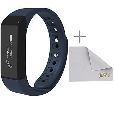 EFOSHM Health Wireless Activity Sleep Monitor Pedometer Smart Fitness Tracker Wristband Watch Bracelet for Men Women Boys Girls Ladies Man Iphone Sumsung HTC