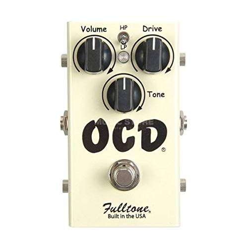 Pedal Distortion Fulltone - Fulltone OCD Obsessive Compulsive Drive Version 2.0 OD/Distortion Pedal