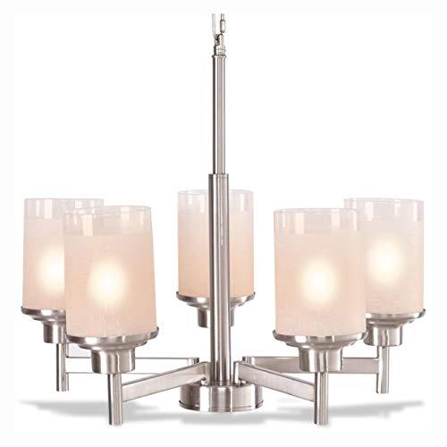 Ceiling Light Fixtures, Elegant Modern Ceiling 5-Light Lighting Fixture Pendent Chandelier