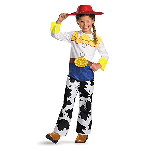 Disguise DI5480-T34T Girls Toy Story Quality Jessie Costume Size Toddler3-4 (Jessie Toy Story Toddler Costume)