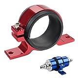 Dewhel fuel pump mount mounting bracket clamp cradle For BOSCH 044 (Red)