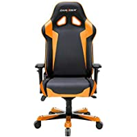 DXRacer OH/SJ00/NO Black & Orange Sentinel Series Gaming Chair