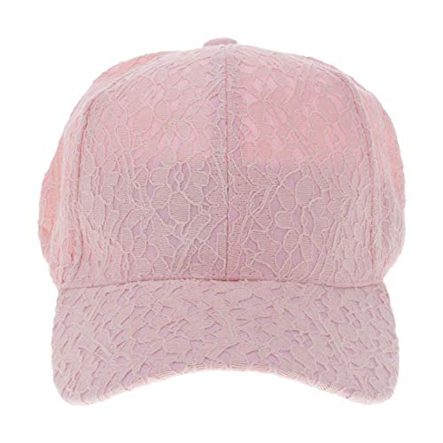 Women Lace Breathable Peaked Cap Strapback Adjustable Outdoor Sport Hat Cap - 9fifty Strapback Cap