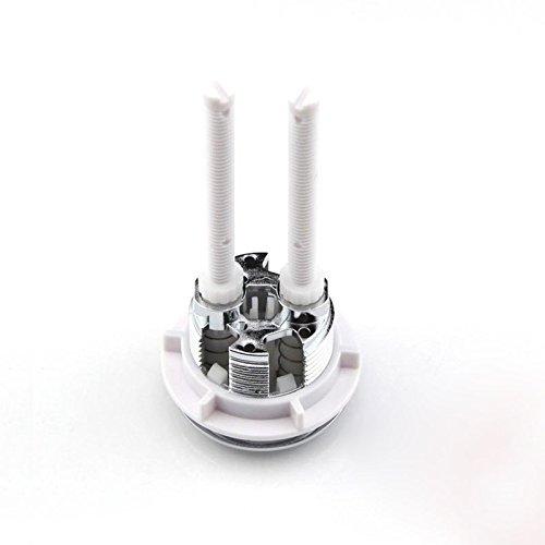 Harwls 38 mm Dual Flush Toilet Tank Round v/álvula Push Button Water Saving for Closestool Bathroom Accessories