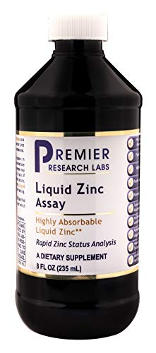 PREMIER RESEARCH LABS Liquid Zinc Assay, 8 - 8 Ounce Research Liquid