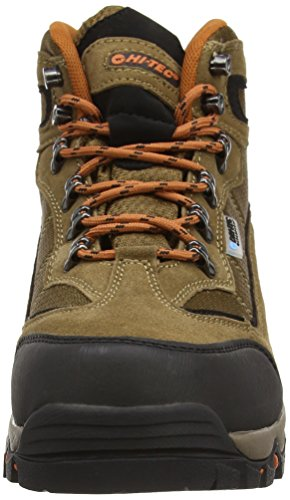 Hi-Tec Keswick Waterproof Men's High Rise Hiking Boots Brown (Smokey Brown/Burnt Orange) mg5fzhG79
