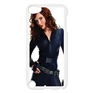 iPod Touch 5 Case White Black Widow Scarlett Johansson 1 OJ493990