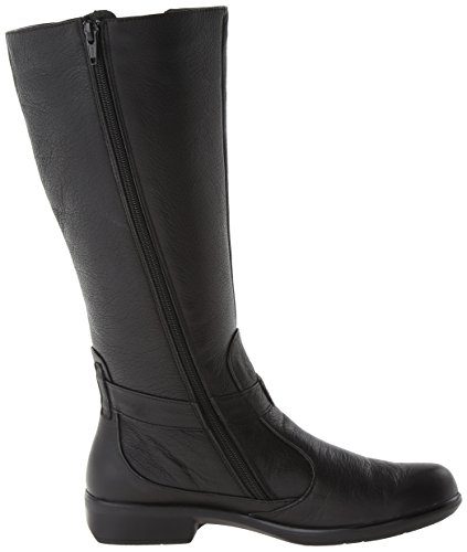Naot Riding Viento Boot Women's Leather Caviar xqqvg0Bnwr