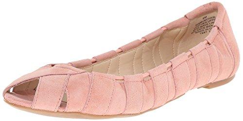 Nine West WomenS Munchkin Suede Ballet Flat, Pink Suede, 35.5 B(M) EU/3.5 B(M) UK