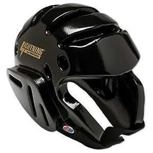 "ProForce Lightning Karate / Martial Arts Headgear (Size:Medium (Head Circ: 21"" - 22"") Color:Black) by Pro Force"