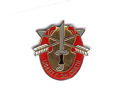 U.S. Army Army Special Forces Liberty Or Death Lapel Hat Pin Military PPM7007