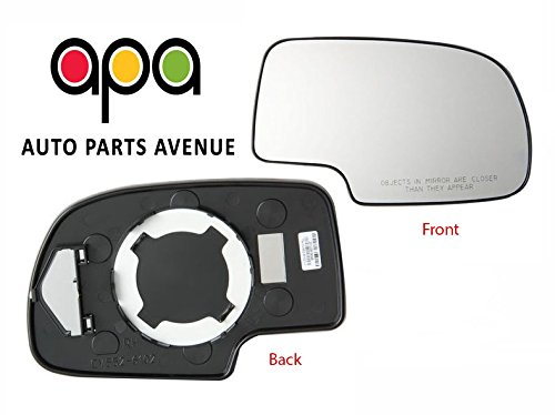 Fits Passenger Side Mirror - Fit System 80058 Passenger Side Non-heated Replacement Mirror Glass with Backing Plate