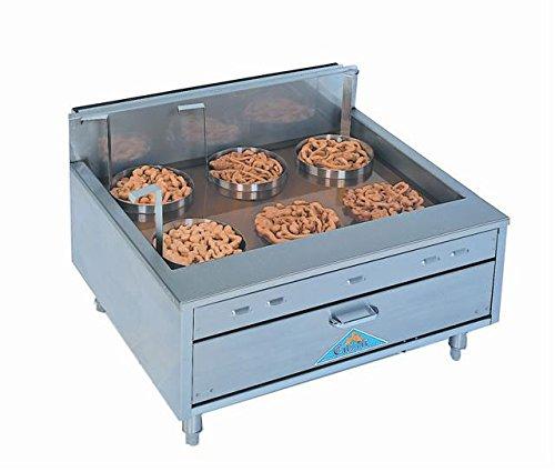 60lb Counter Top Funnel Cake Donut Doughnut Gas Fryer