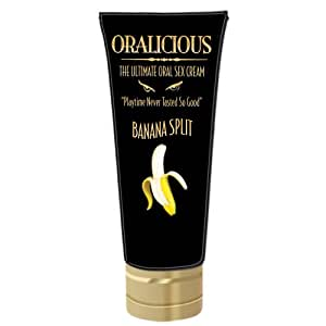 Hott Products Oralicious Oral Sex Cream, 2oz., Banana Split