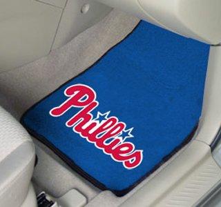 Fan Mats Philadelphia Phillies MLB Car Floor Mats (2 Front) FAN-6452