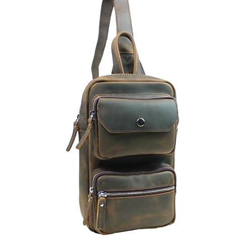 Vagabond Traveler Full Grain Leather Waist Leg Sport Bag LK16 ... abec64af1b07d