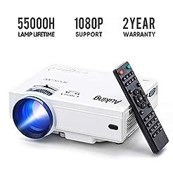 Mini Projector 2019 Upgraded Portable Vi...