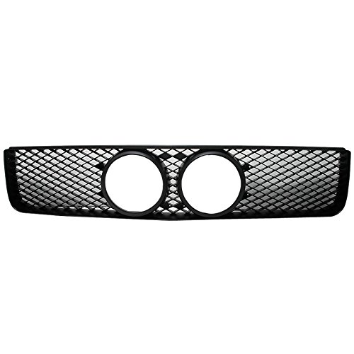 Honeycomb Mustang - Grille Fits 2005-2009 Ford Mustang Gt | Honeycomb Mesh Style ABS Black Front Bumper Hood Grill by IKON MOTORSPORTS