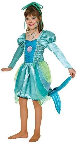 Fancy Me Disfraz de Sirena de Concha de mar para niñas, Disfraz de ...