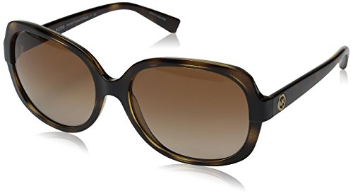 Image of Michael Kors Women's Isle of Skye Dark Tortoise Sunglasses