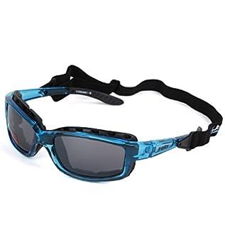 JC Optics Styler Premium Sport Gafas Gafas de Sol polarizado Crystal Blue