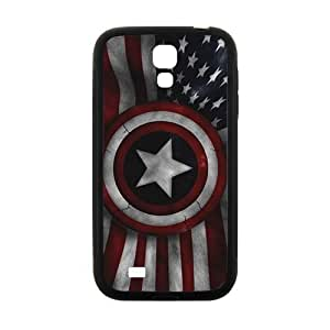 Cool painting Captain America's Shield Brand New And Custom Hard Case Cover Protector For Samsung Galaxy S4
