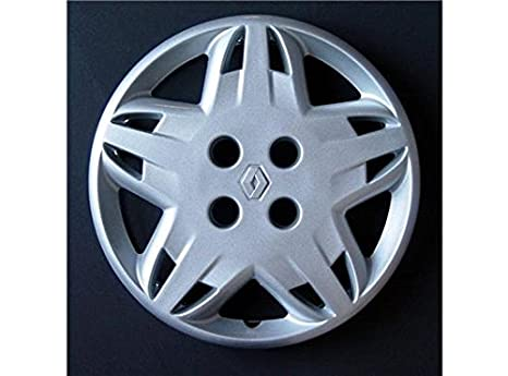 Otras Marcas Juego 4 Tapacubos para Renault Clio, Twingo, Laguna, Megane, Scenic, Espace, Kang: Amazon.es: Coche y moto