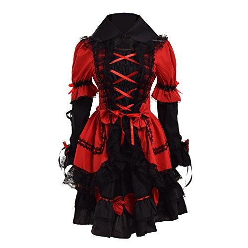 Vestir Lolita Gótico Capa Manga Mujeres Largo Multi Graceart qxw6Hg0F