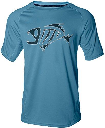 (G. Loomis URSO Tech T-Shirt - Light Blue -)