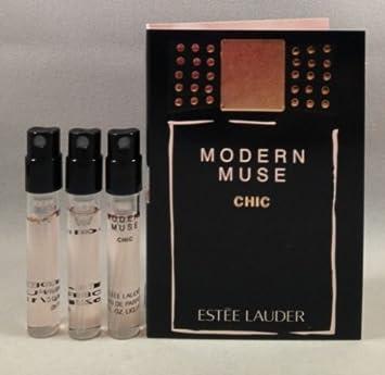 Amazon.com : 3 Estee Lauder Modern Muse Chic EDP Spray Sample ...