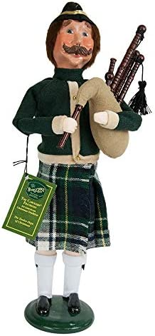 Byers Choice 11 Pipers Piping Caroler Figurine 741 from The 12 Days of Christmas Collection