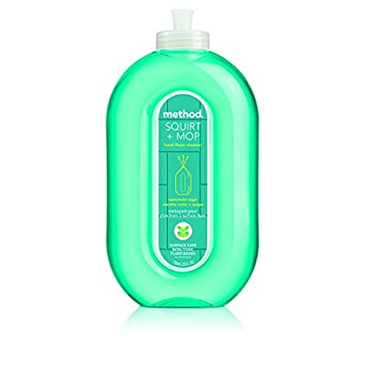 Method Squirt + Mop Hard Floor Cleaner, Spearmint Sage, 25 Ounce