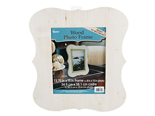 Chippendale Picture Frame Unfinished Wood