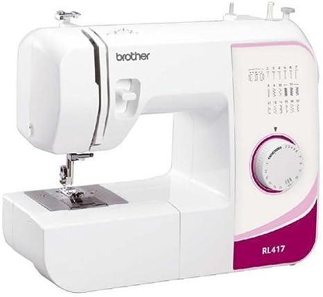 BROTHER Máquina de coser mecánica RL417 + Kit Patchwork 679340 ...