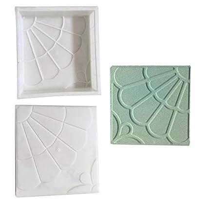 Amazon com: Paving Molds - Concrete Mold Pavement Diy Plastic Path