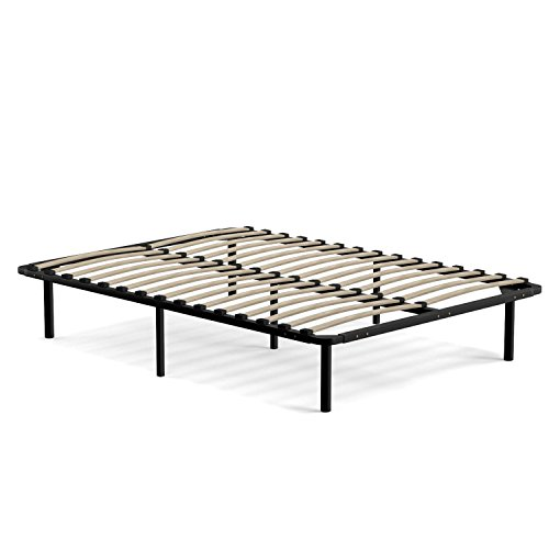 Handy Living Wood Slat Bed Frame Full