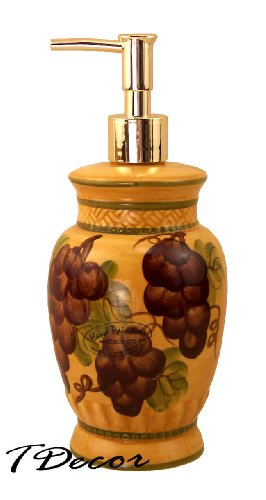 Soap Lotion Dispenser Tuscany Grapes product image